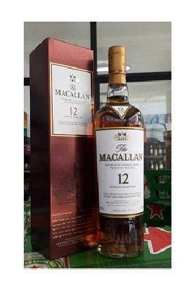 The Macallan 12 Year Old Sherry Wood 700ml