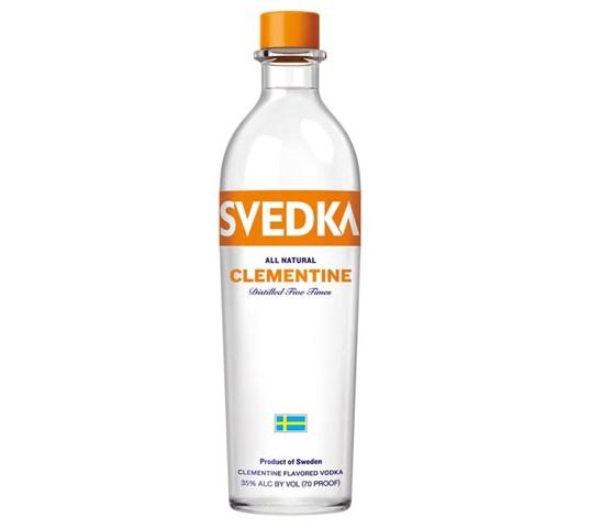 Svedka Clementine Vodka- 750ml - 37%