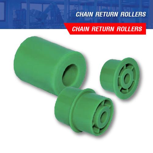 CHAIN RETURN ROLLERS