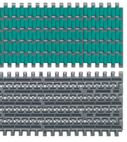 """25,4 mm (1"""") MODULAR BELTS - THICKNESS: 12,7 mm (1/2"""")"""