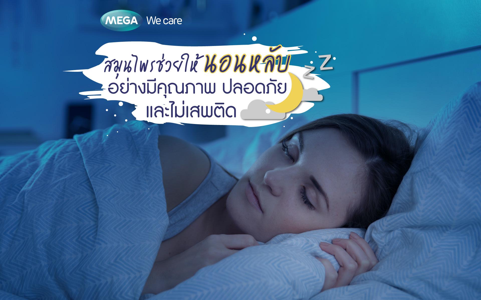 สมุนไพรช่วยให้นอนหลับอย่างมีคุณภาพ