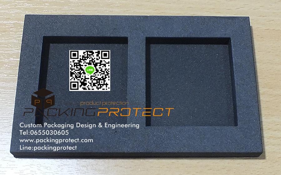 รับผลิตโฟมevaโฟมกันกระแทก foam packaging รับตัดยางอีวีเอตามแบบราคาถูก