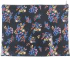 """กระเป๋า ลายดอกไม้สีน้ำเงิน 10""""x13"""""""