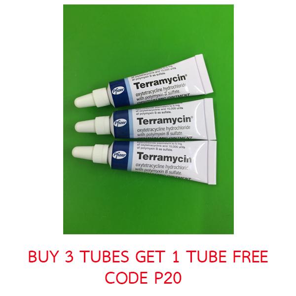 TERRAMYCIN 3.5 G./TUBE