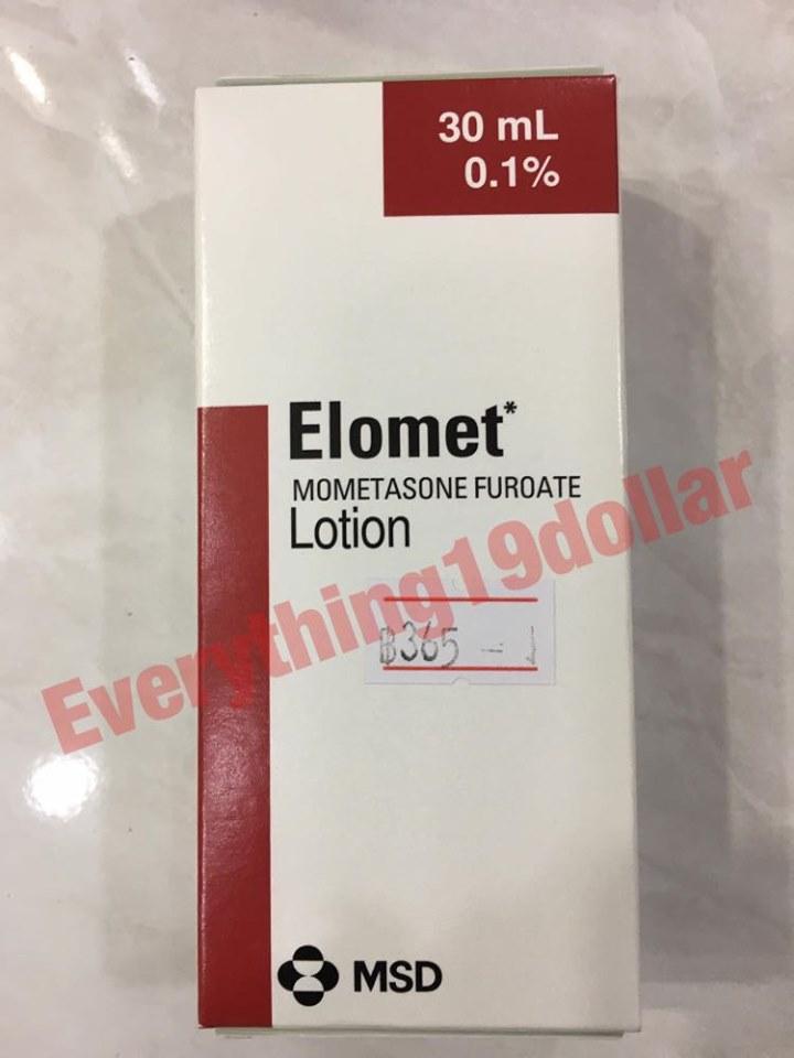 ELOMET PSORIASIS ECZEMA ANTI-INFLAMMATORY LOTION