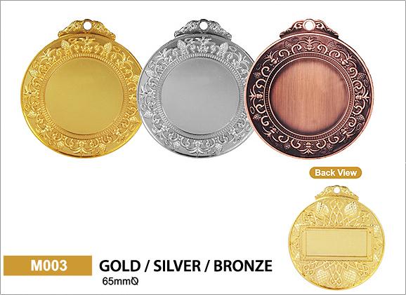 เหรียญรางวัลโลหะ M003