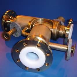 PTFE/PFA SPECIAL JACKETED PIPING