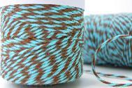 Baker's Twine Aqua Delight - Aqua and Brown สีพิเศษ