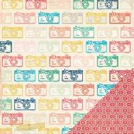"""Crate Paper Styleboard Double - Sided Cardstock 12"""" X 12"""" - Snapsho"""