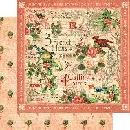 The Twelve Days of Christmas Calling Birds Paper
