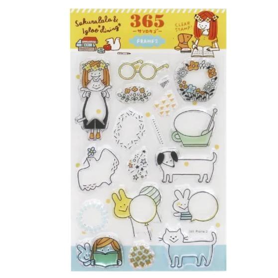 sakuralala 365 Clear Stamps - Frame 2