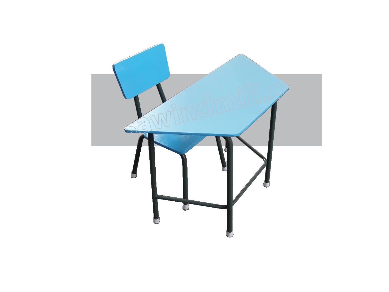 โต๊ะเก้าอี้นักเรียนทรงคางหมู