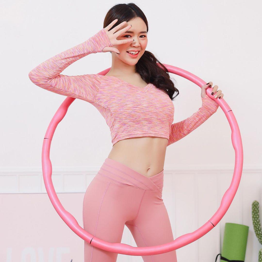Peach Pink Crop Top