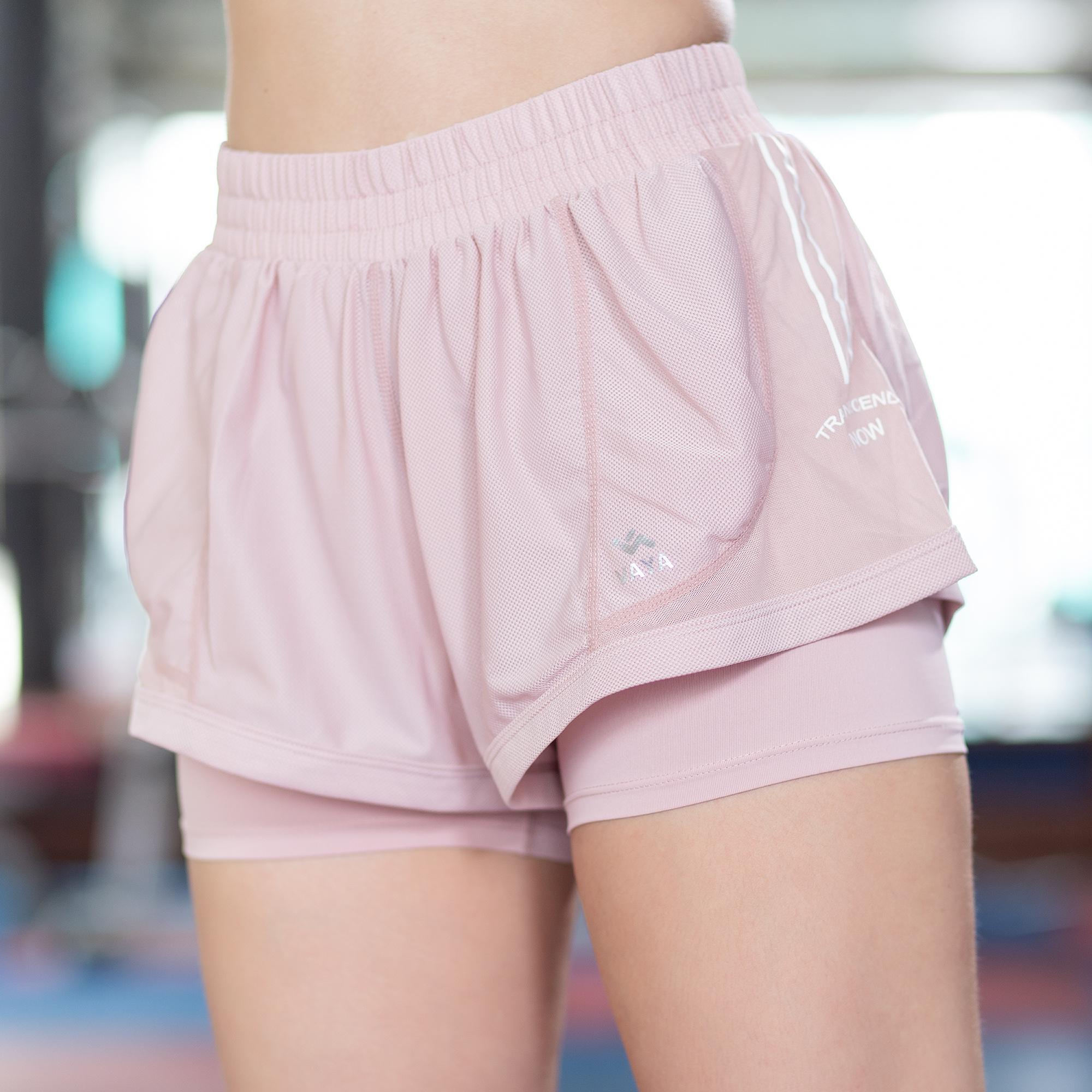 Light Pink Sports Shorts กางเกงขาสั้นสุดน่ารัก