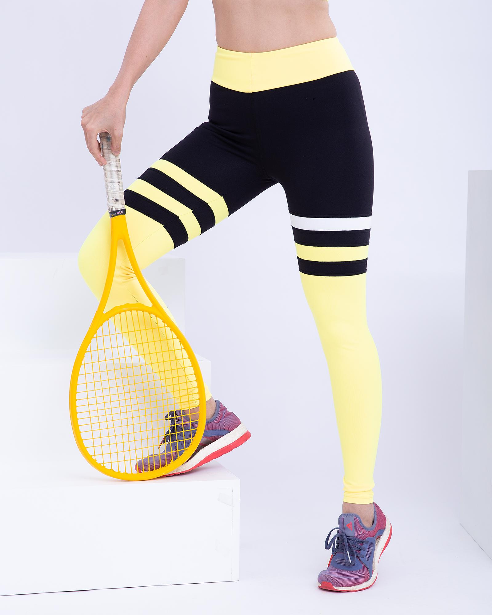 Brightty Sport Tights กางเกงเอวสูงนุ่มสบาย