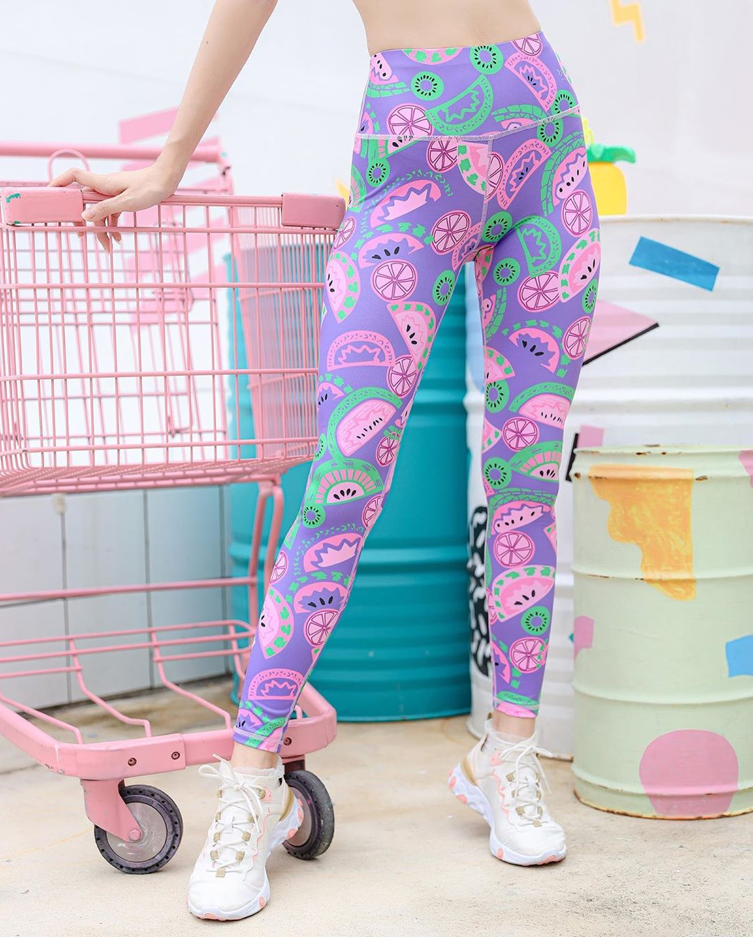 Melon Leggings (Purple)