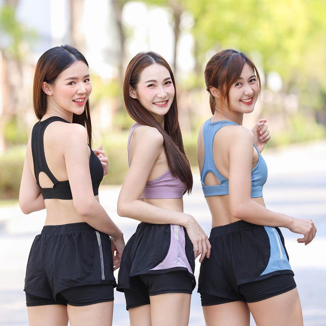 Three Short Running & Fitness