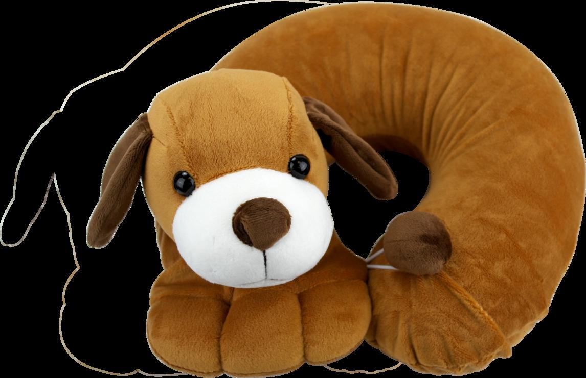 狗卡通颈枕
