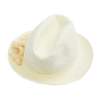 [[พร้อมส่ง]] [CW-278] CatWorld++หมวก++หมวกสานสีขาวค่ะ