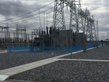 สถานีไฟฟ้าแรงสูง สีคิ้ว 3 จ.นครราชสีมา