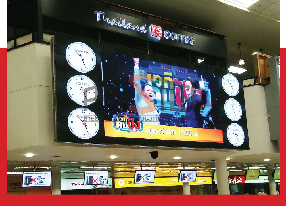 16-CHIANG MAI LED WORLD CLOCK