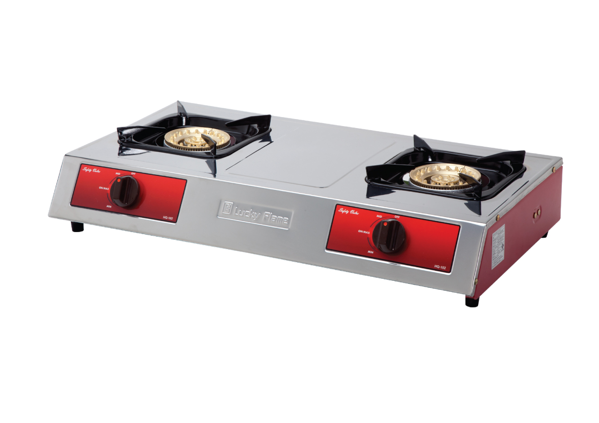 Tabletop gas cooker
