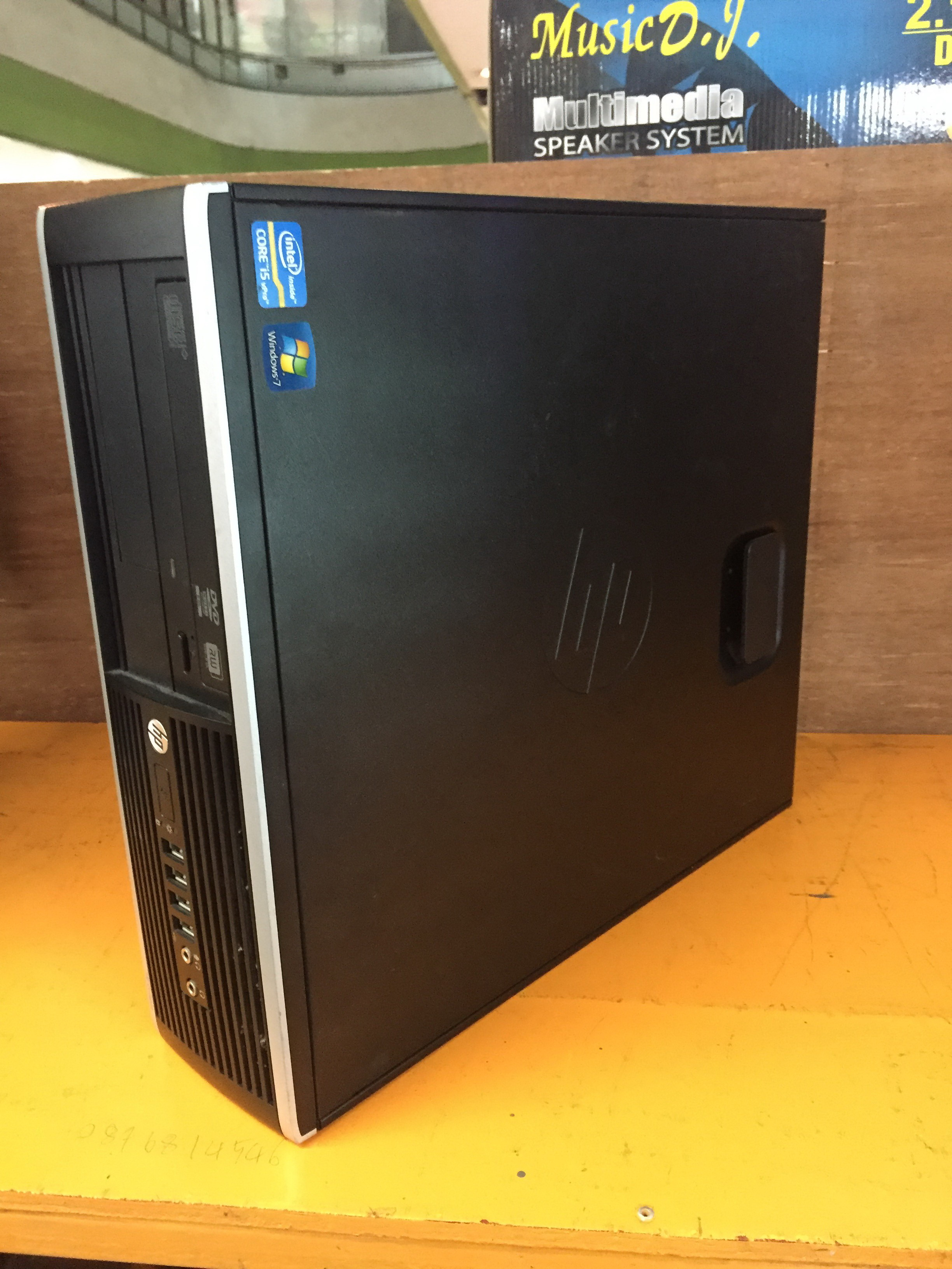 HP 8200 Elite  Core i5-2400@3.10GHz
