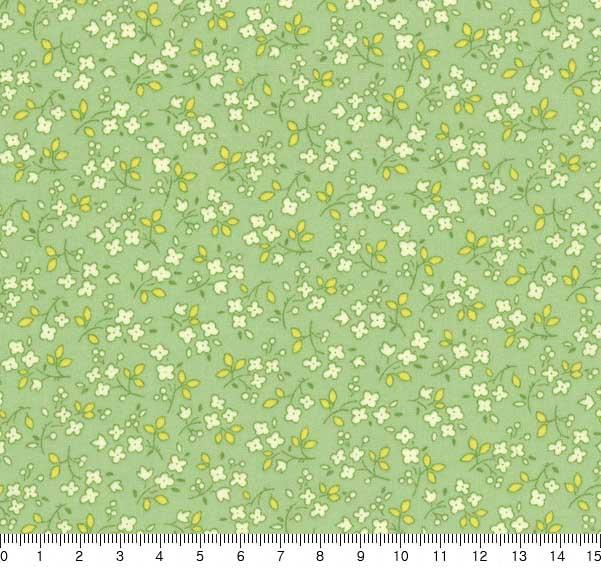 ผ้า cotton ญี่ปุ่น LECIEN 30s style ขนาด 1/4 m.(55 x 50 cm.)