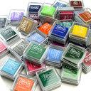 Ink pad หมึกปั๊ม สามารถใช้ได้กับผ้า กระดาษ ไม้