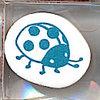 Stamp ลายเต่าทอง ขนาด 3.2*3.2 cm.