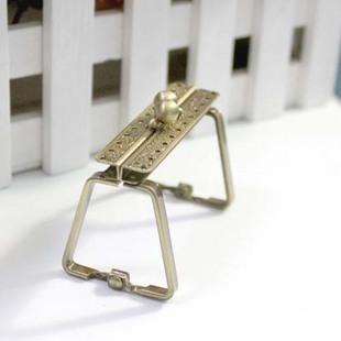 ปากกระเป๋าป๊อกแป๊ก ทรงเหลี่ยม ขนาด 7 cm.