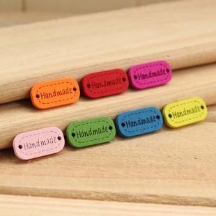 ป้ายไม้ Handmade มี 7 สีให้เลือก 2 อัน/set