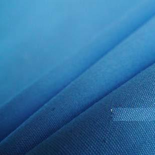 ผ้า cotton ไทย สีพื้นฟ้า ขนาด 1/4 เมตร (50*55 ซม.)
