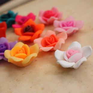 ดอกกุหลาบเรซิ่น ขนาด 2.5 cm.ราคาดอกละ