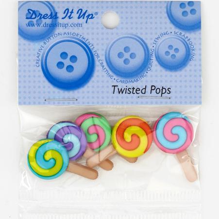กระดุมชุด Twisted Pops ของ Dress It Up ราคา/แพ็ค