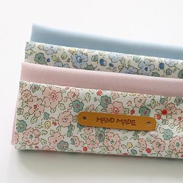 ผ้า cotton เกาหลี เซท 4 ชิ้น  ขนาด 27.5 x 45 cm.
