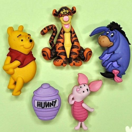 กระดุม Winnie the Pooh ของ Dress It Up ราคา/แพ็ค