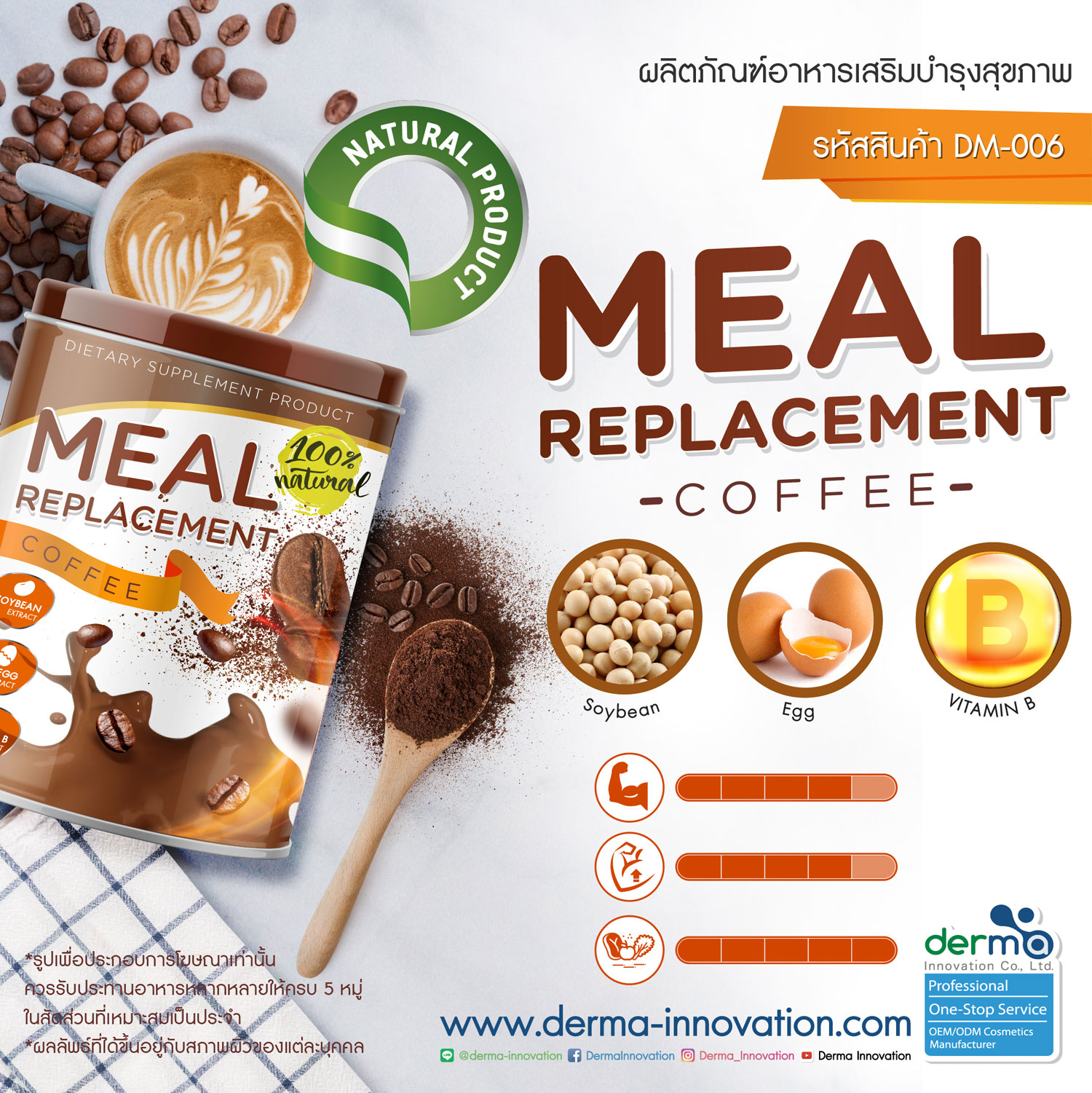 Meal Replacement Coffee