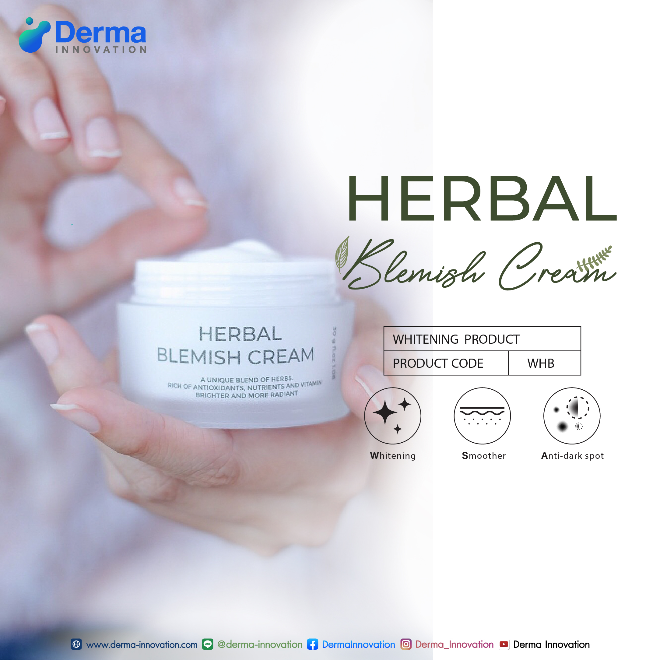 WHB Herbal Blemish Cream
