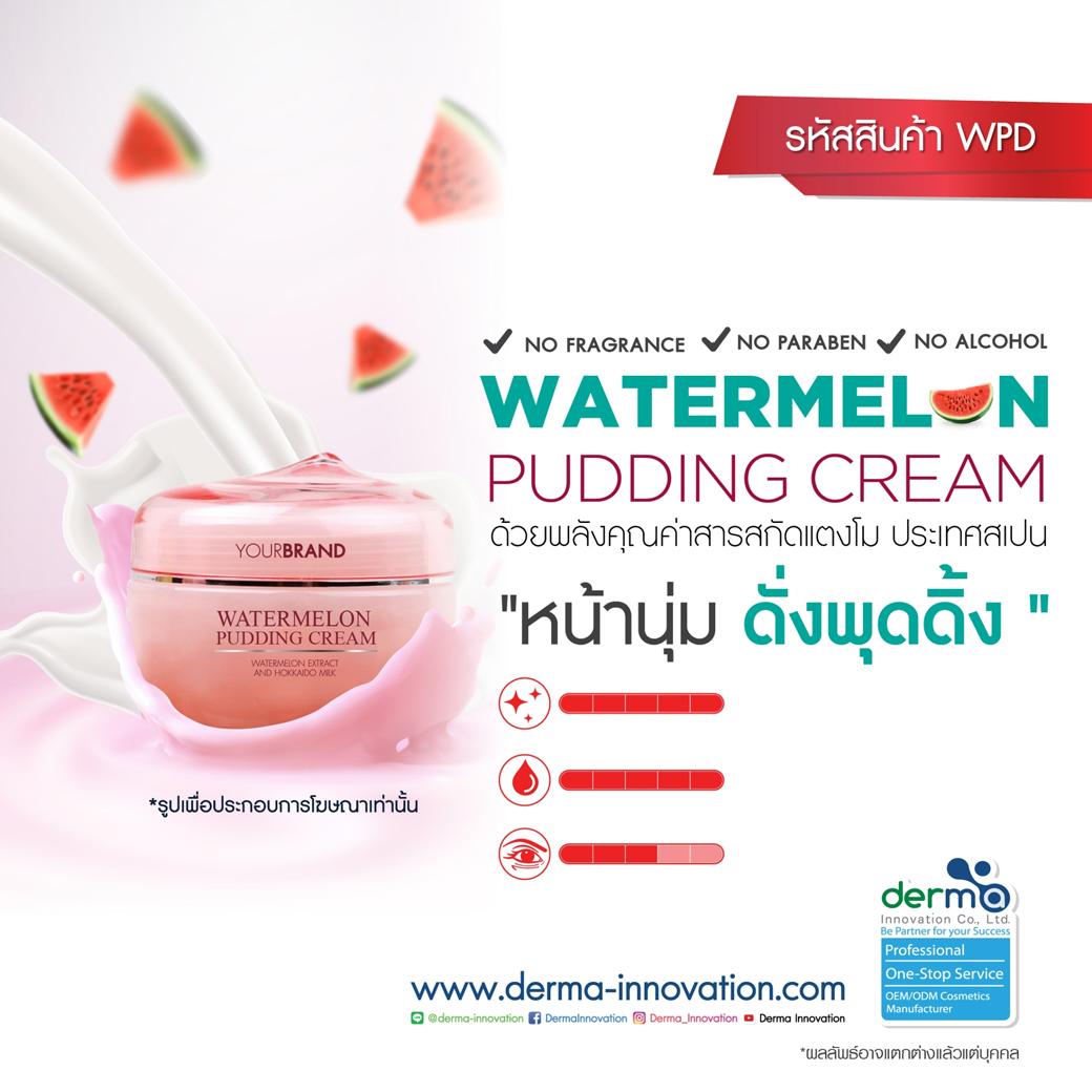 Watermelon Pudding Cream