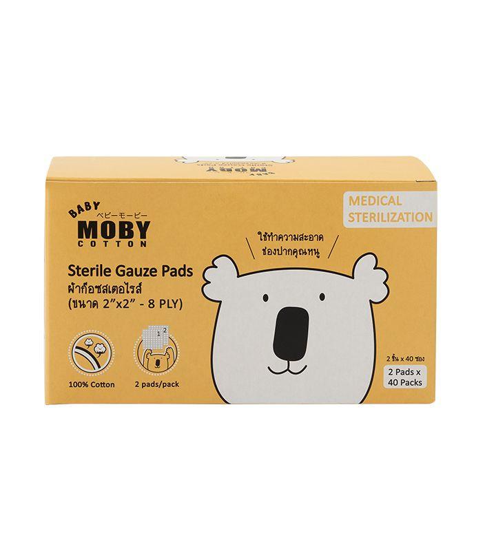 Mobyผ้าก๊อซสเตอร์ไรส์แบบกล่อง