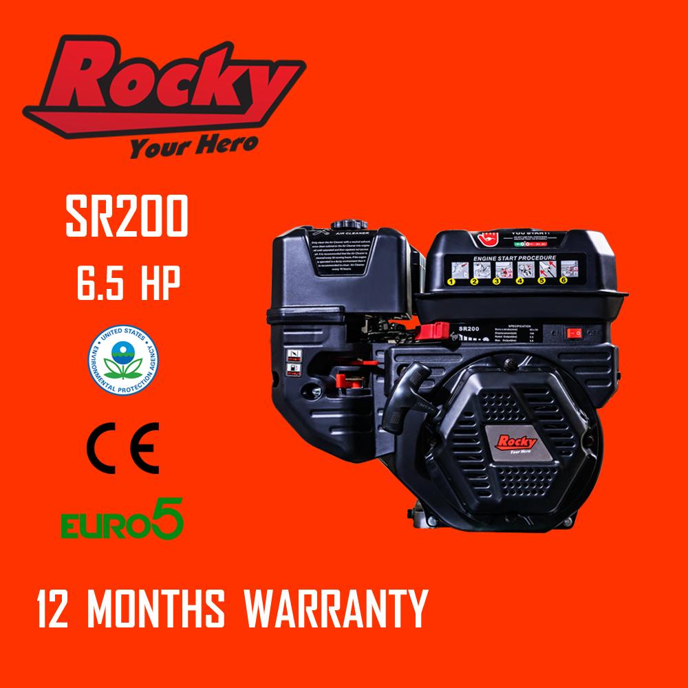 Rocky เครื่องยนต์ 6.5HP