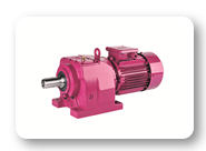 MR Sereis : Helical geared motors, foot mounted