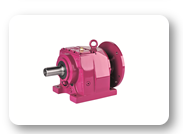MN Series : Helical geared units with IEC B5/B14 motor flange, foot mounted