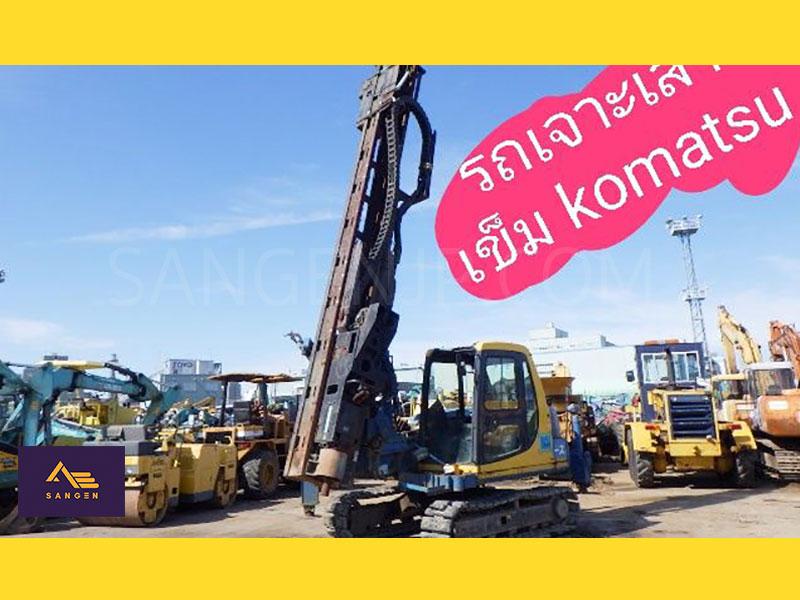 รถเจาะเสาเข็ม KOMATSU