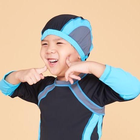 Holihi Accessories/ Swim Cap (Koh Yang Blue)