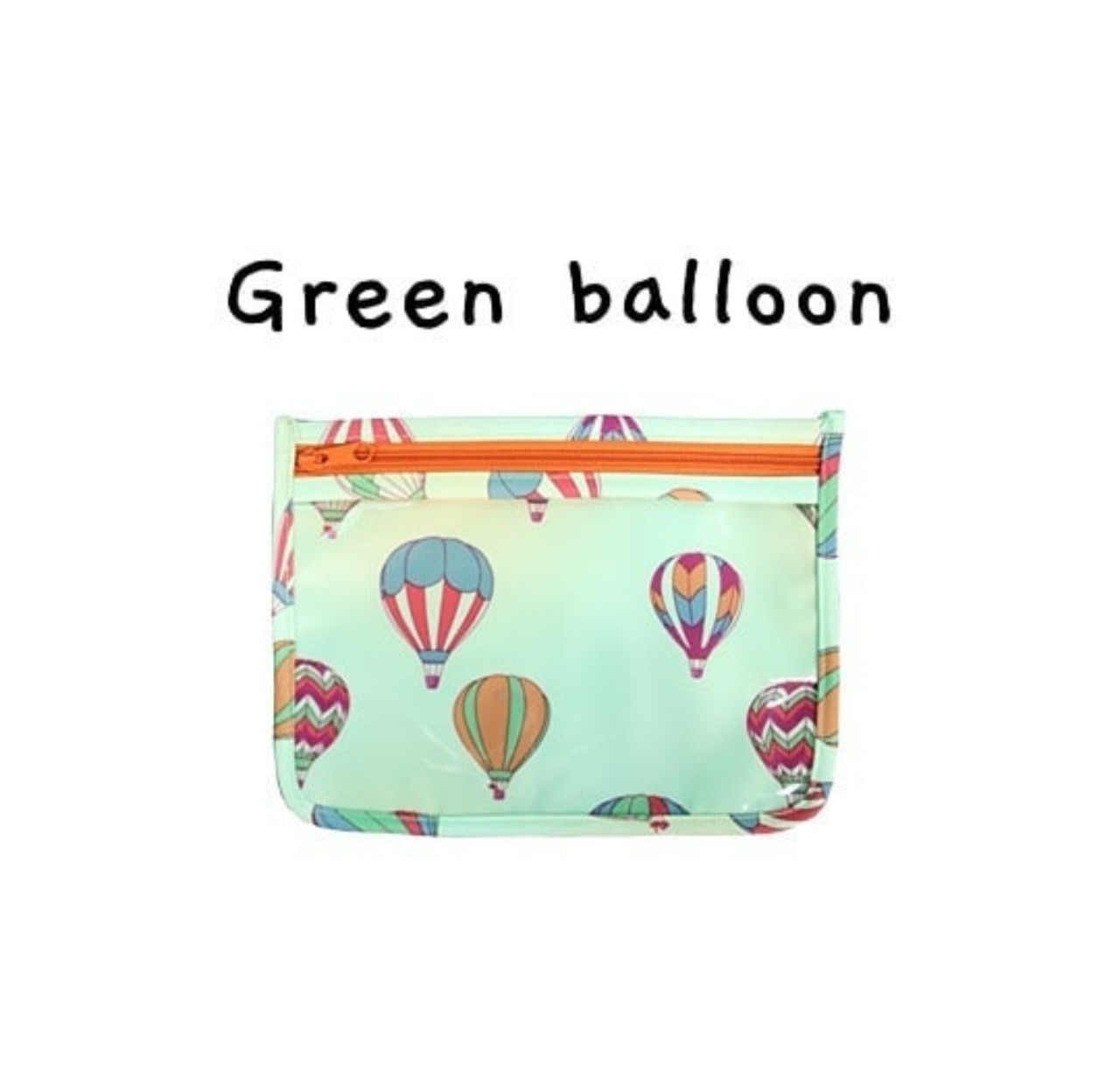 Daily Buddy Bag/Green Balloon