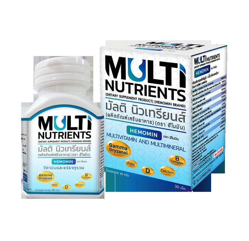 Multi Nutrients ( ชนิดเม็ดขนาด 30 กรัม )