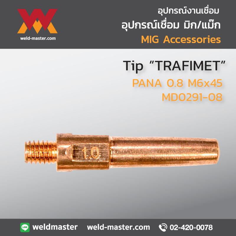 """TRAFIMET"" MD0291-08 Tip PANA 0.8 M6x45"