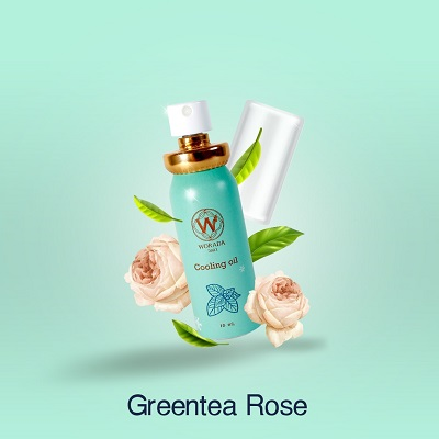 Cooling Oil กลิ่น Greentea Rose